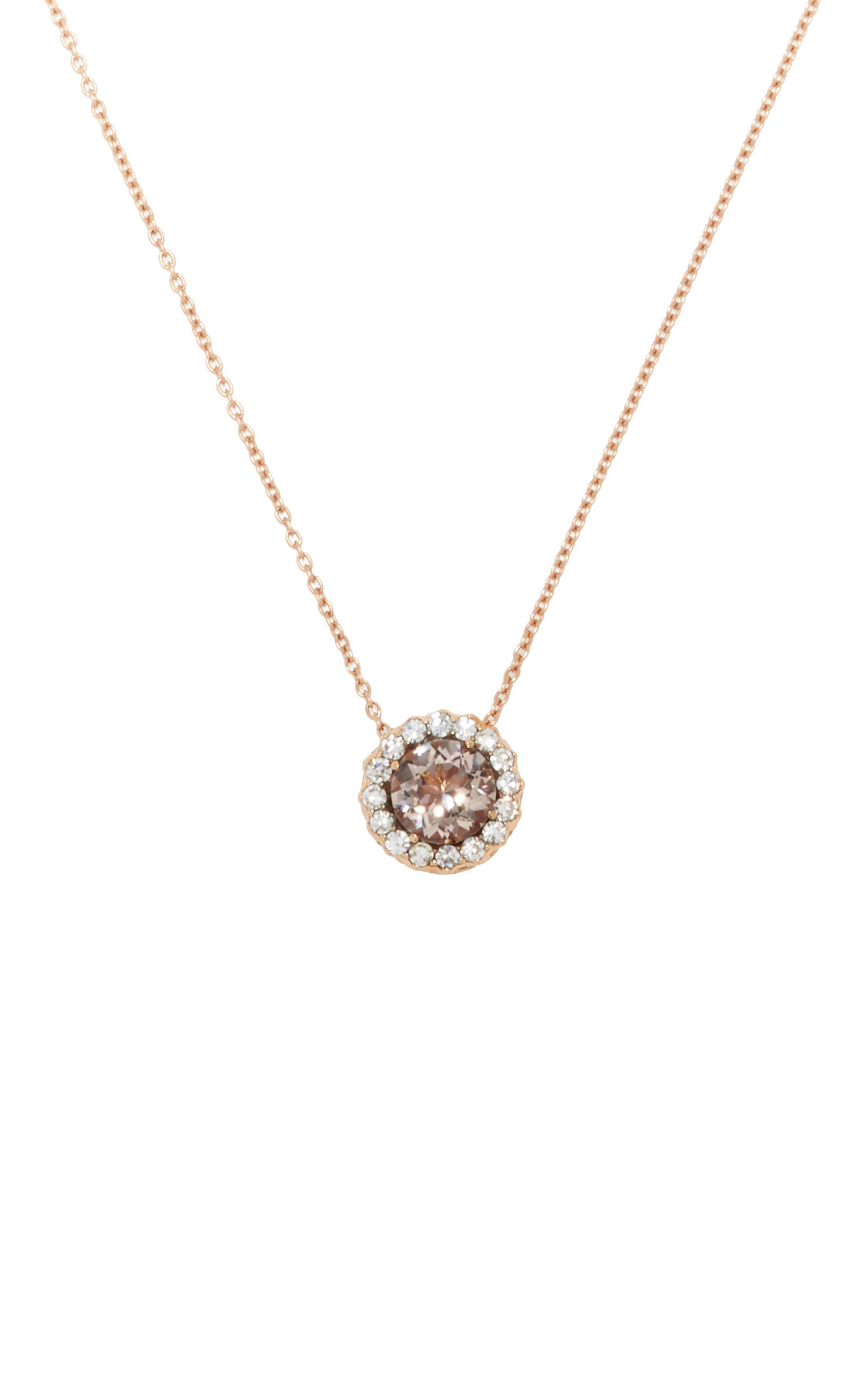 morganite pendant necklaces and collections diamond pear gold tresor dazzle yellow collection in