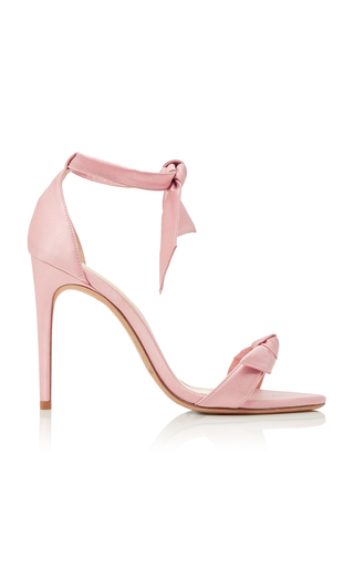 Medium alexandre birman pink m o exclusive satin sandals