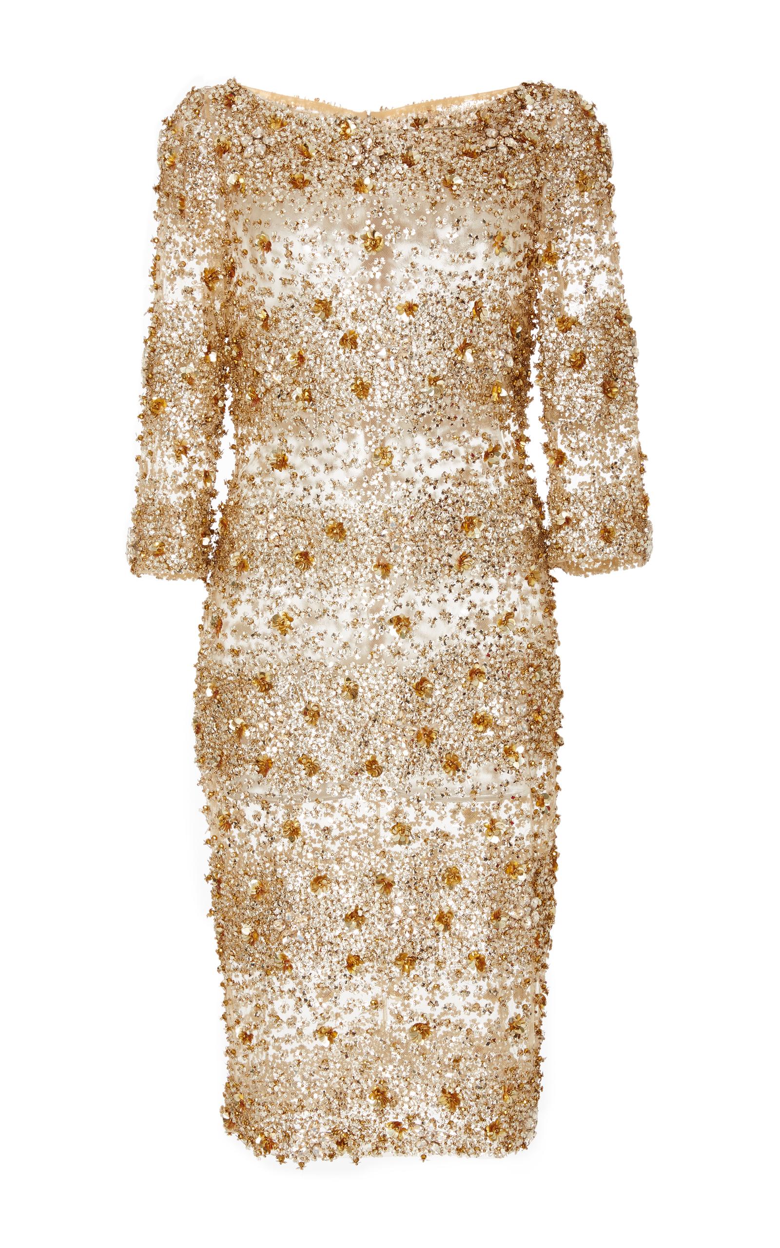 Embellished Cocktail Dress by Naeem Khan | Moda Operandi