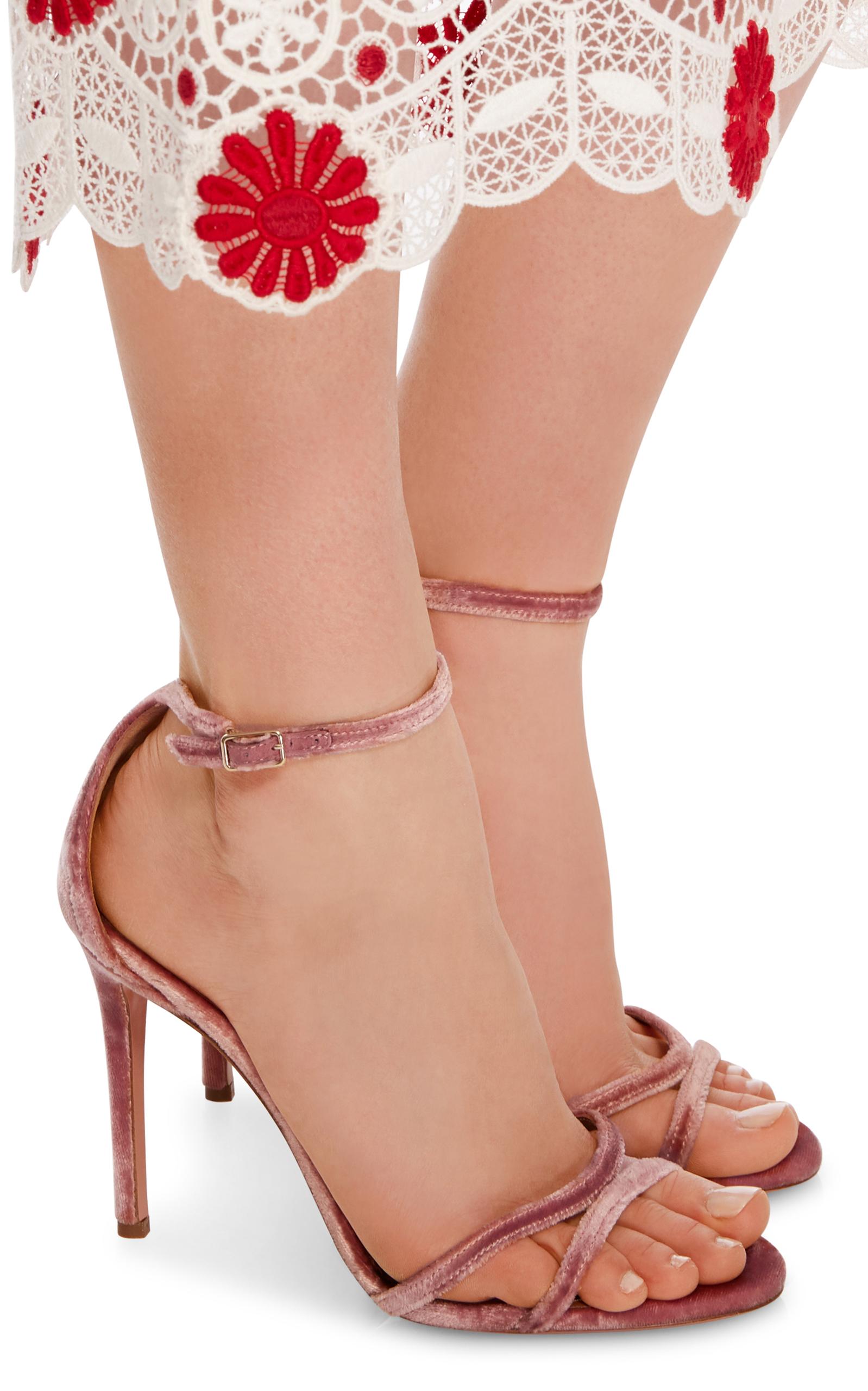 ... Evening; Purist Velvet Sandals. CLOSE. Loading