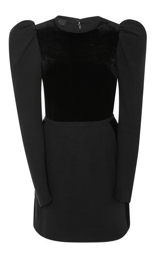 Medium elie saab black velvet mini dress