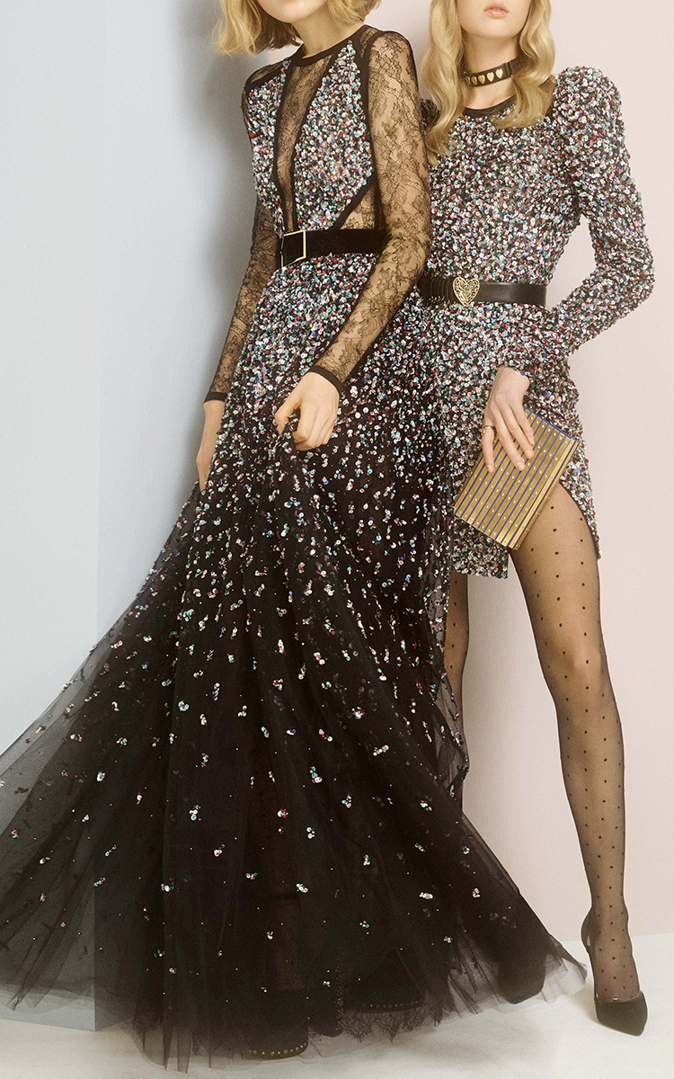 Beaded Embellished Cocktail Dress by Elie Saab | Moda Operandi
