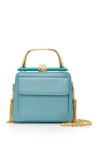 Medium elie saab blue mini classique bag