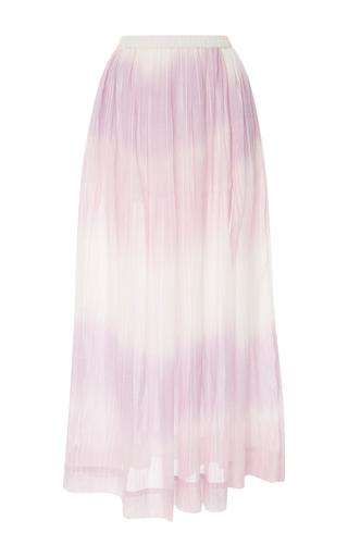 Medium lemlem purple berhan degrade cotton gauze maxi skirt