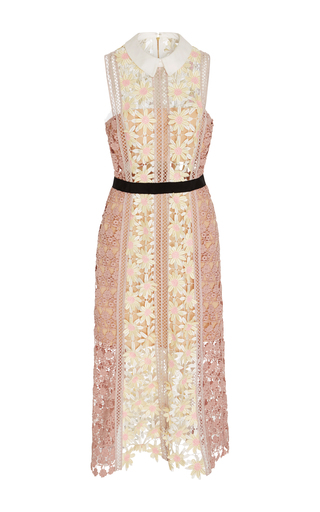 Medium self portrait multi guipure lace dress