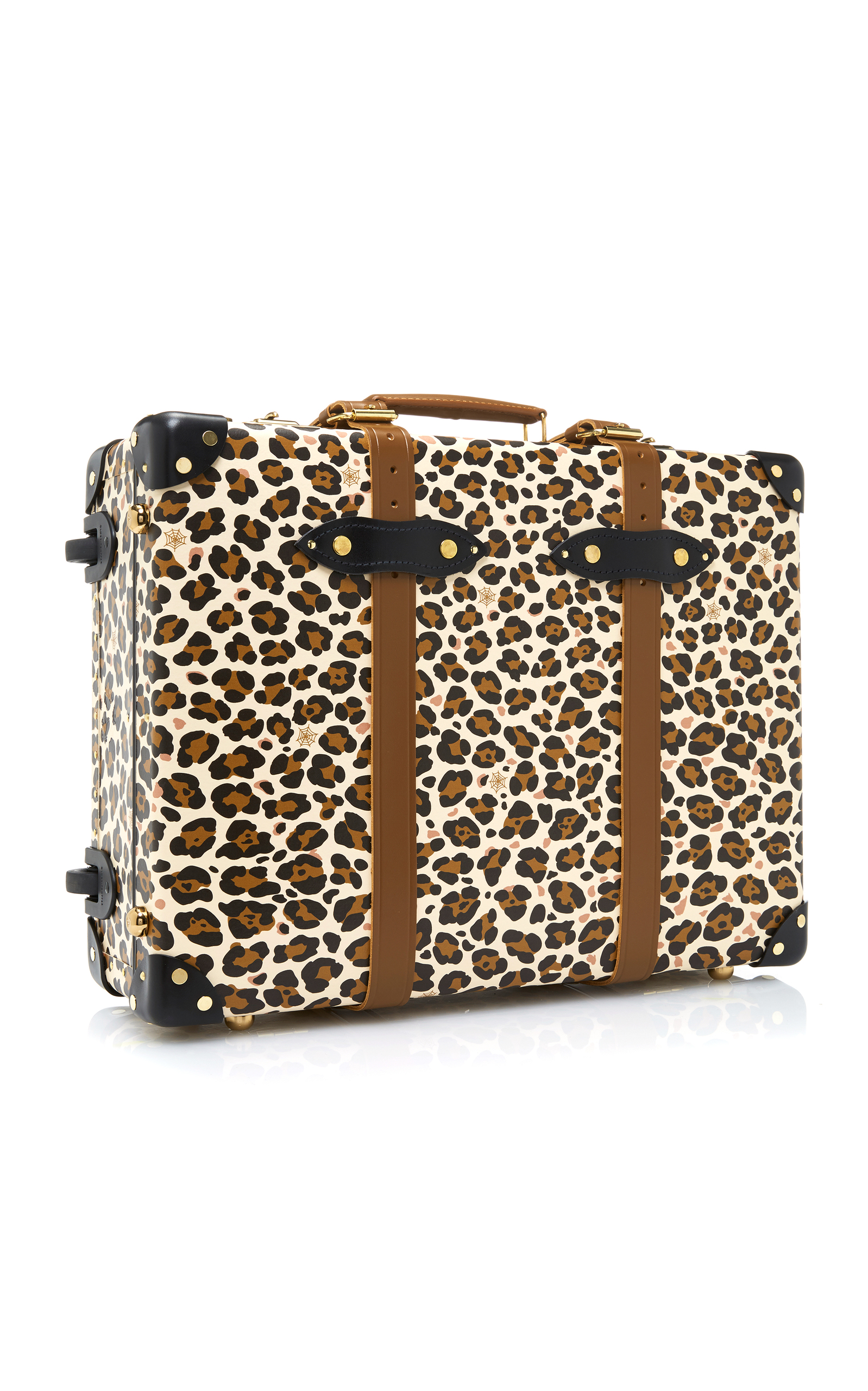 Charlotte Olympia x Globe-Trotter Leopard-Print Leather Trolley Case Charlotte Olympia rGNmweh9G