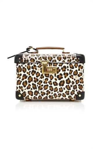 Medium charlotte olympia print leopard print leather vanity case