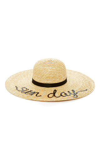 Medium eugenia kim neutral bunny sun day straw sunhat
