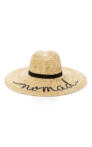 Medium eugenia kim neutral carmen embellished straw sunhat