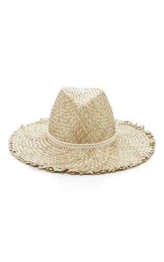 Medium eugenia kim neutral ailin woven straw hat