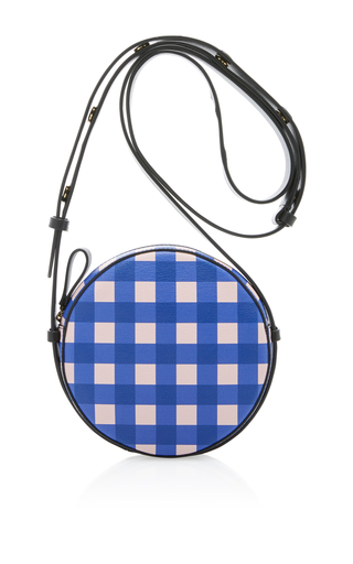 Medium diane von furstenberg blue circle bag