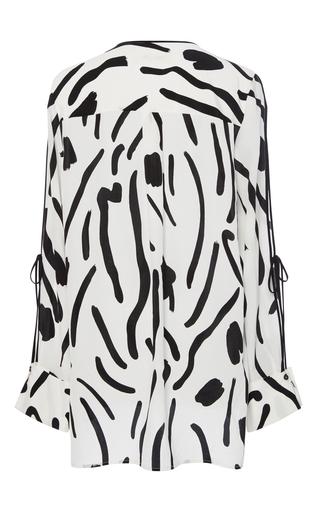 67db737e196502 Diane von FurstenbergChatham-Print Silk Blouse