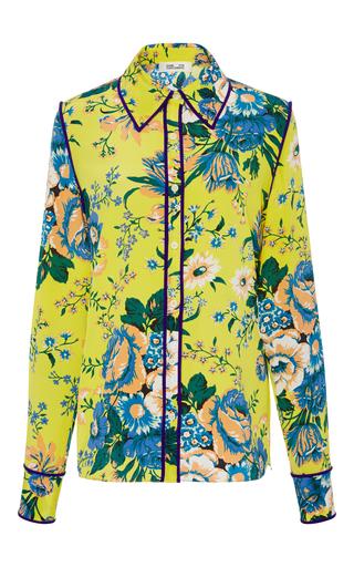 c27142086fc795 Diane von FurstenbergLong Sleeve Collared Shirt