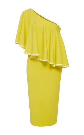 6dec2a0293f4b7 Diane von FurstenbergOne Shoulder Ruffle Front Dress