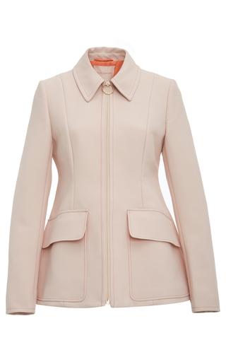 Medium roksanda ilincic pink cato flap patch pocket jacket