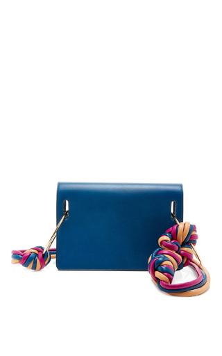 Medium roksanda ilincic blue ring cord shoulder bag