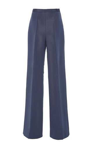 Medium christian siriano grey straight leg trousers