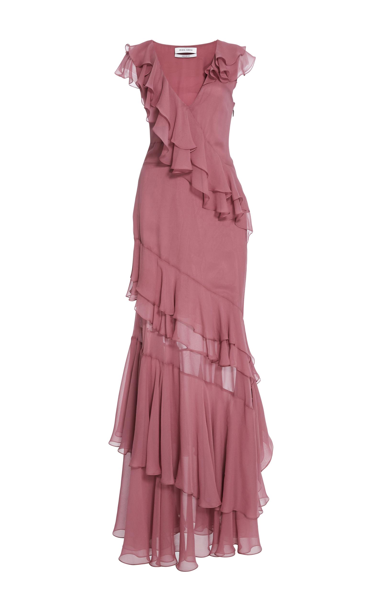 Lujoso Tiered Cocktail Dress Ideas Ornamento Elaboración Festooning ...