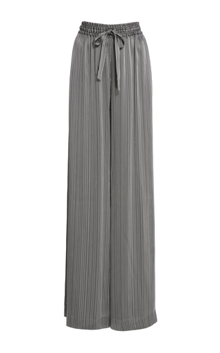 Medium prabal gurung black drawstring pajama pant 2