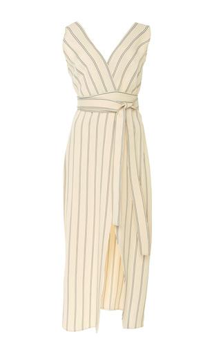 Medium khaite stripe striped dress