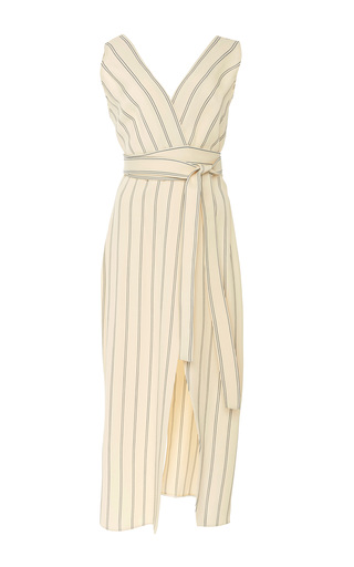 Medium khaite stripe striped dress