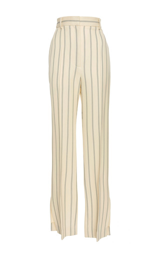 Medium khaite stripe delilah striped wide leg pants