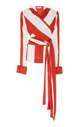Medium monse stripe striped silk blouse