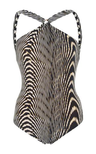 Medium lenny niemeyer animal zebra print one piece swimsuit