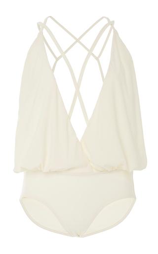 Medium lenny niemeyer white one piece swimsuit