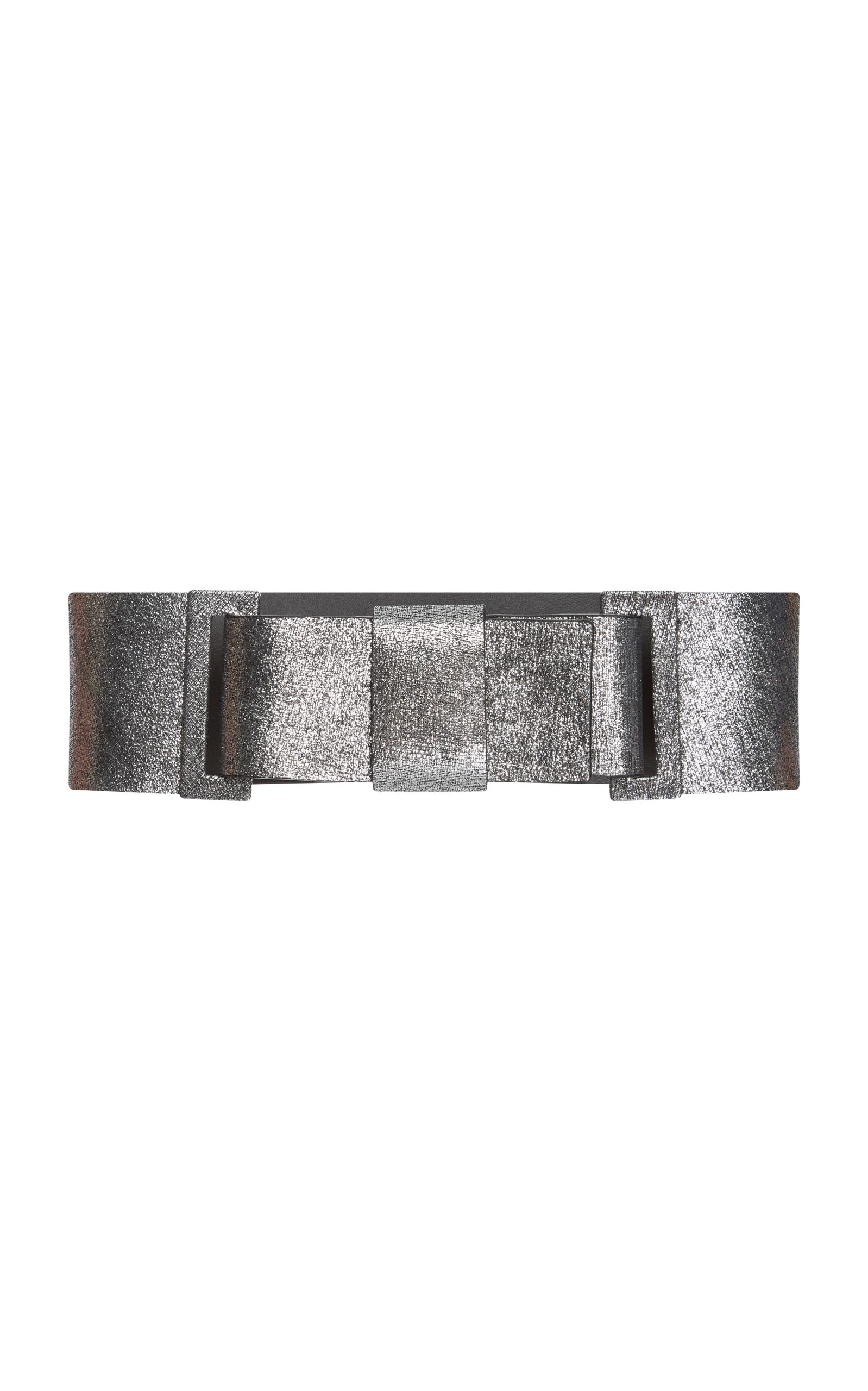 Embellished Leather Belt Marni M481OiGdCs