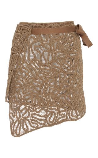 Medium maiyet brown crochet skirt