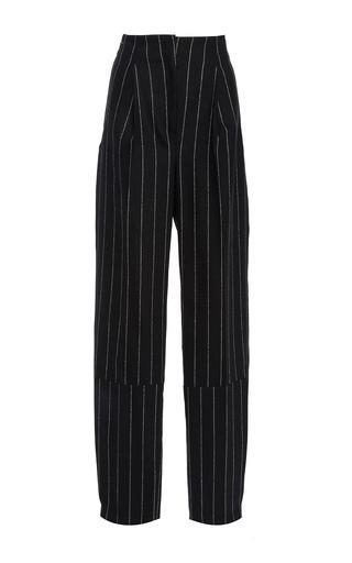 Medium maiyet stripe pinstripe high waisted trouser