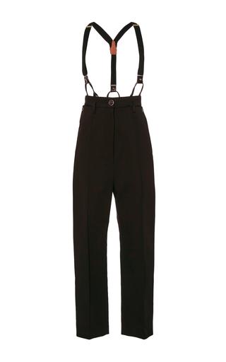 Medium temperley london black blueberry tailored trousers