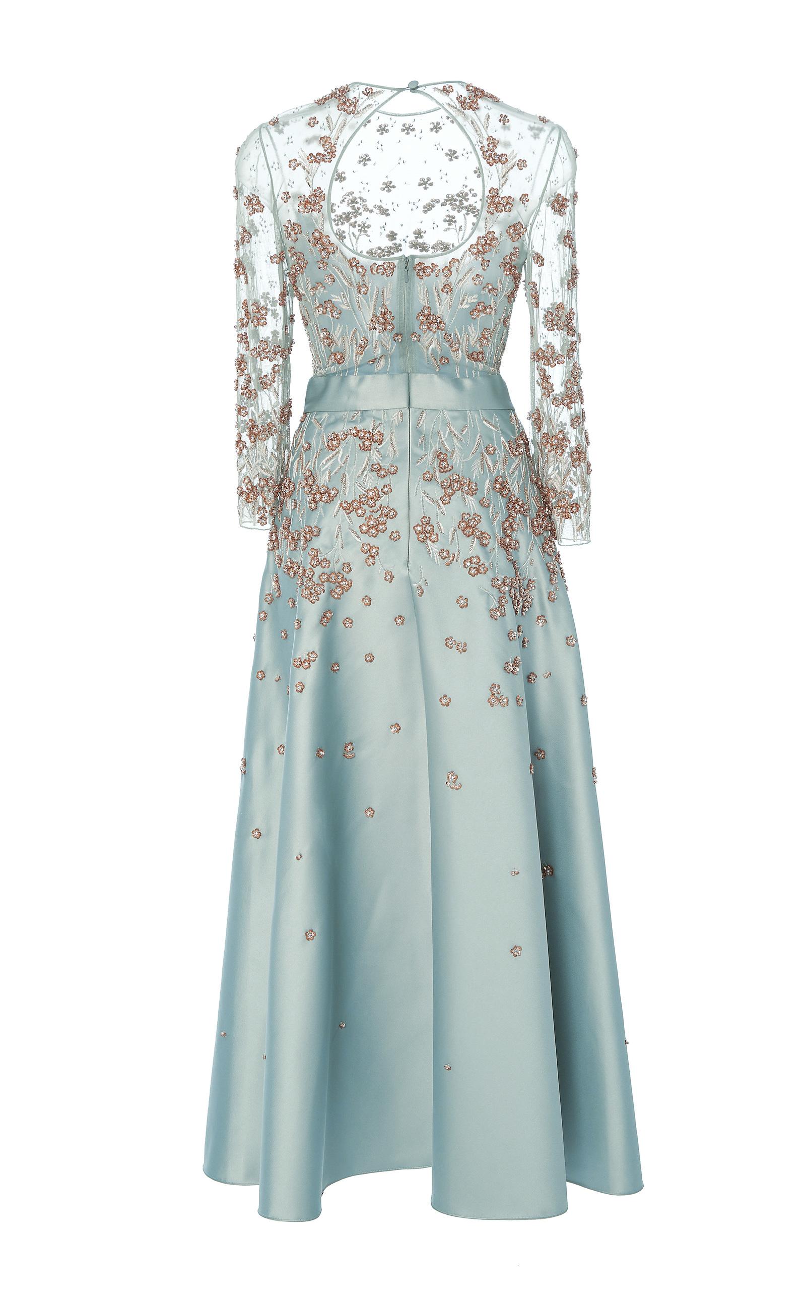 Glen Sleeved Dress by Temperley London | Moda Operandi