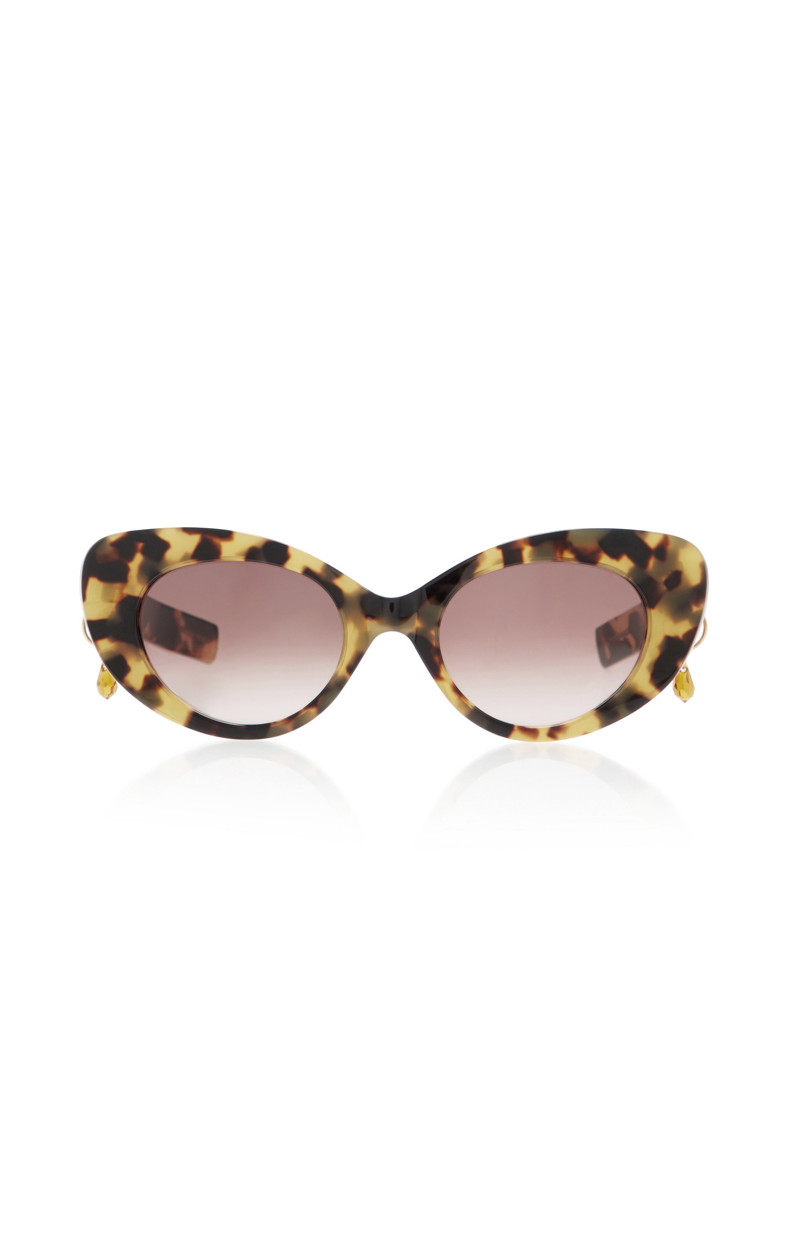 fff74d6ec7 M O Exclusive Poms   Pared Tortoiseshell Cat-Eye Sunglasses by Pared ...