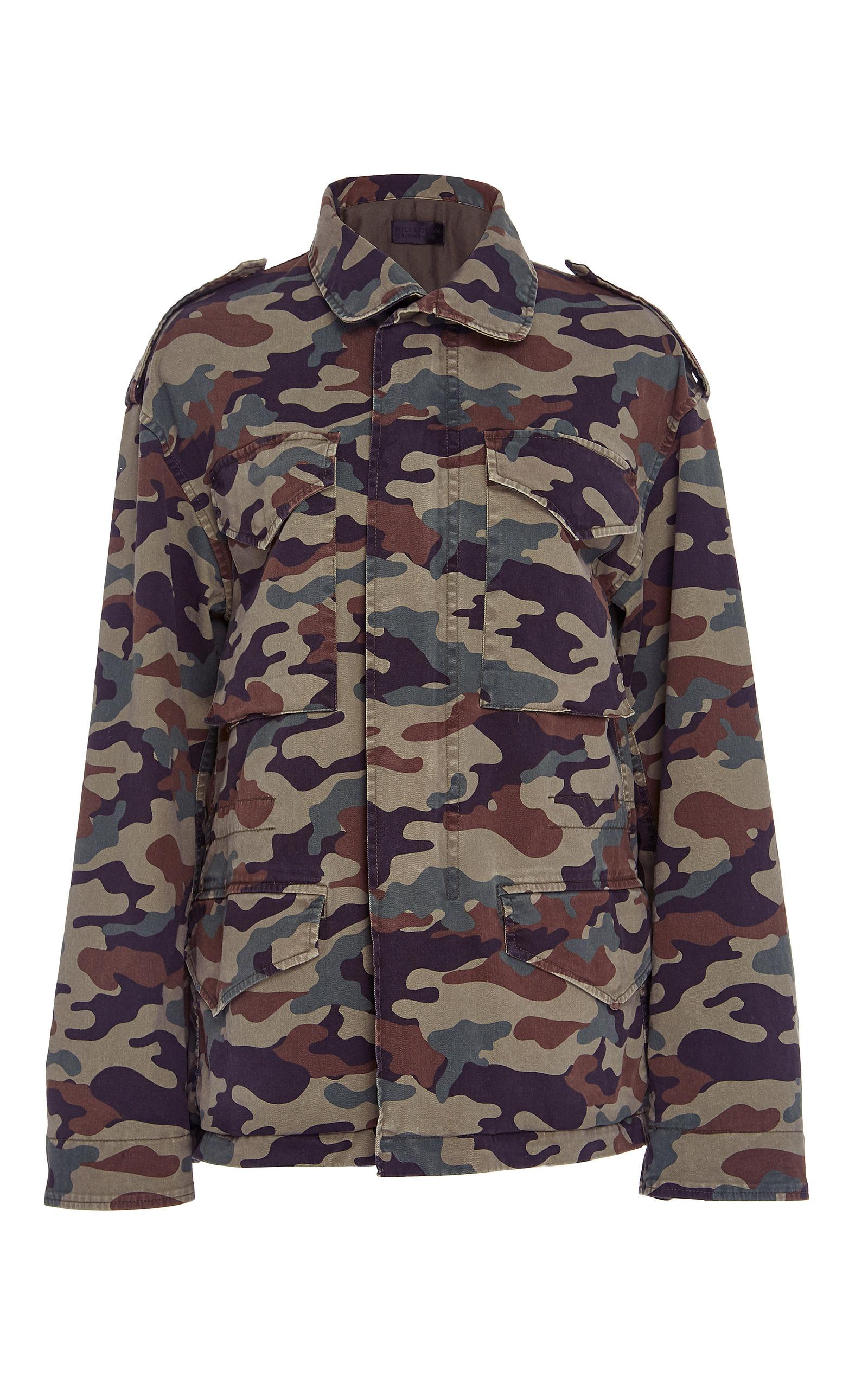 5bcb9e3ca6464 Ashton Camo Jacket by NILI LOTAN | Moda Operandi