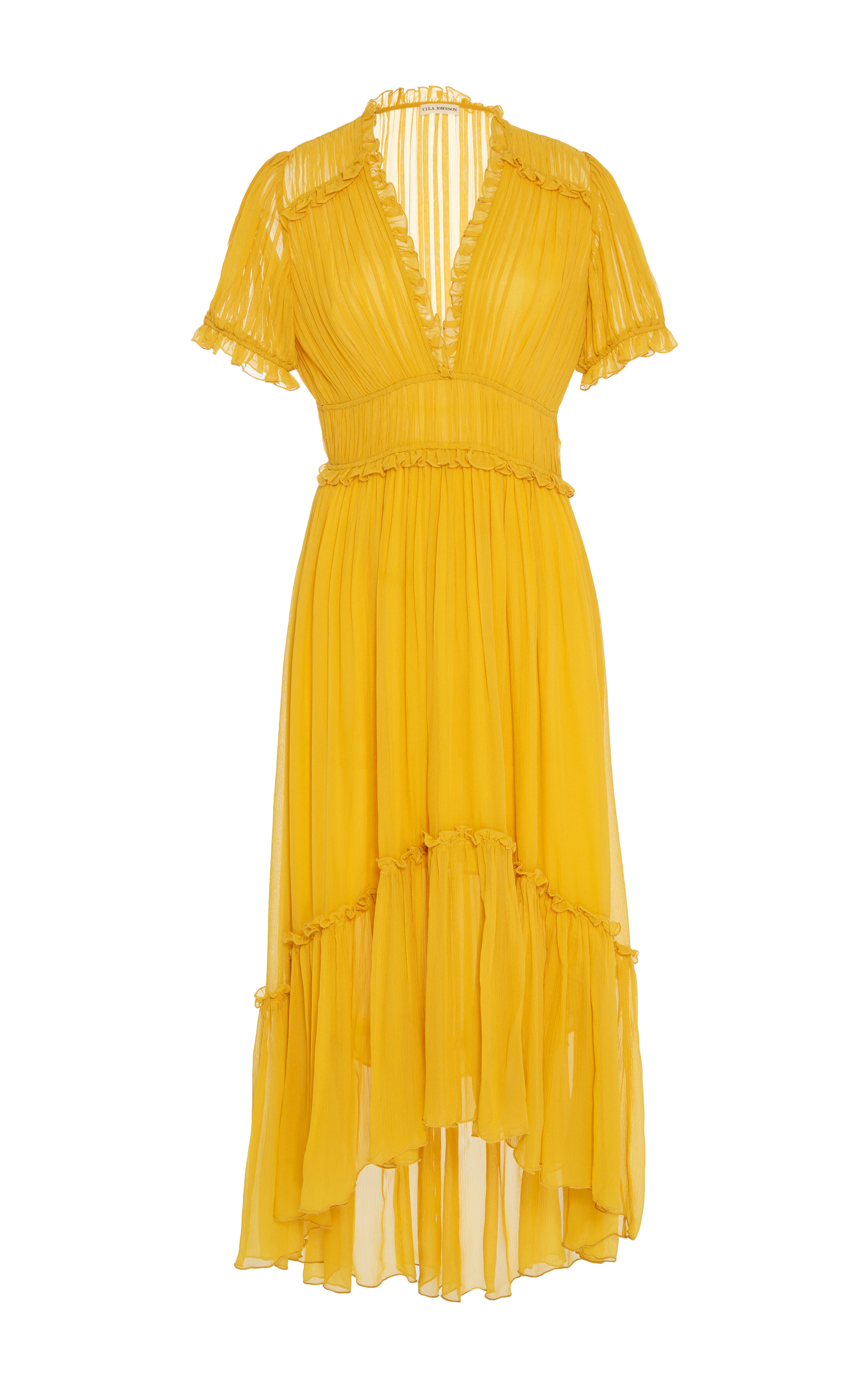 Sonja Tiered Dress By Ulla Johnson Moda Operandi