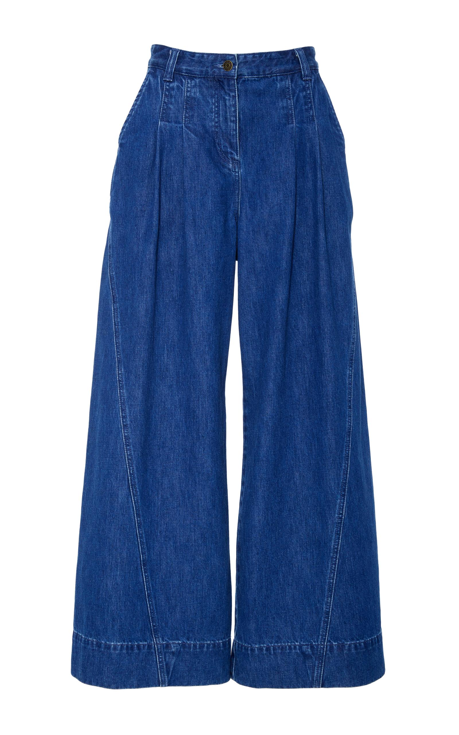 7f0c89628ef97 Lange High Waist Wide Leg Jeans by Ulla Johnson | Moda Operandi