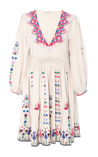 Vija Embroidered Mini Dress By Ulla Johnson Moda Operandi
