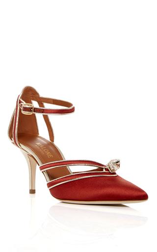 Medium malone souliers orange violet sandal