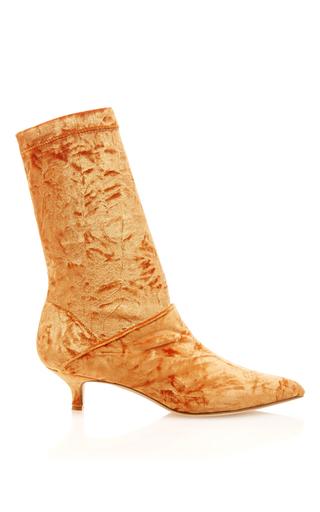 Medium tibi orange harper boot