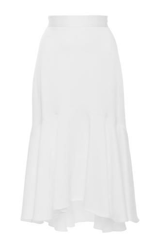 Medium marissa webb white benson ruffle skirt