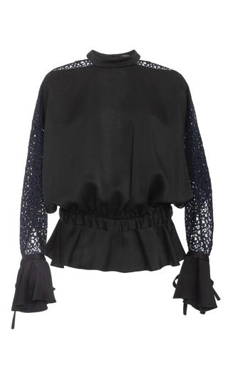Medium marissa webb black sullivan lace blouse