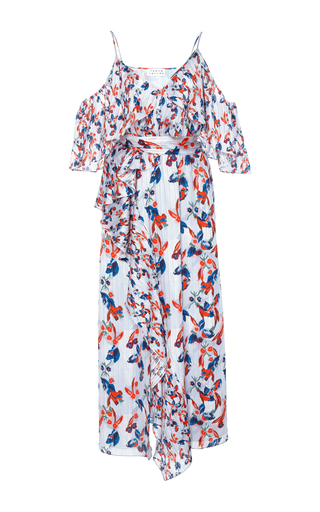 Medium tanya taylor print floral ikat lorena dress