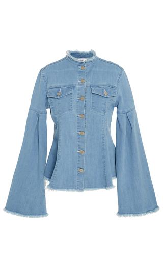 Medium tanya taylor blue denim leoni jacket