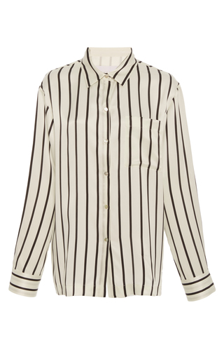 Medium asceno stripe jet black stripe pajama top