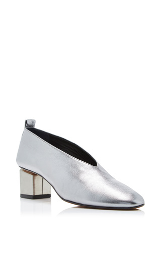 Medium gray matters silver mildred classica pump 6