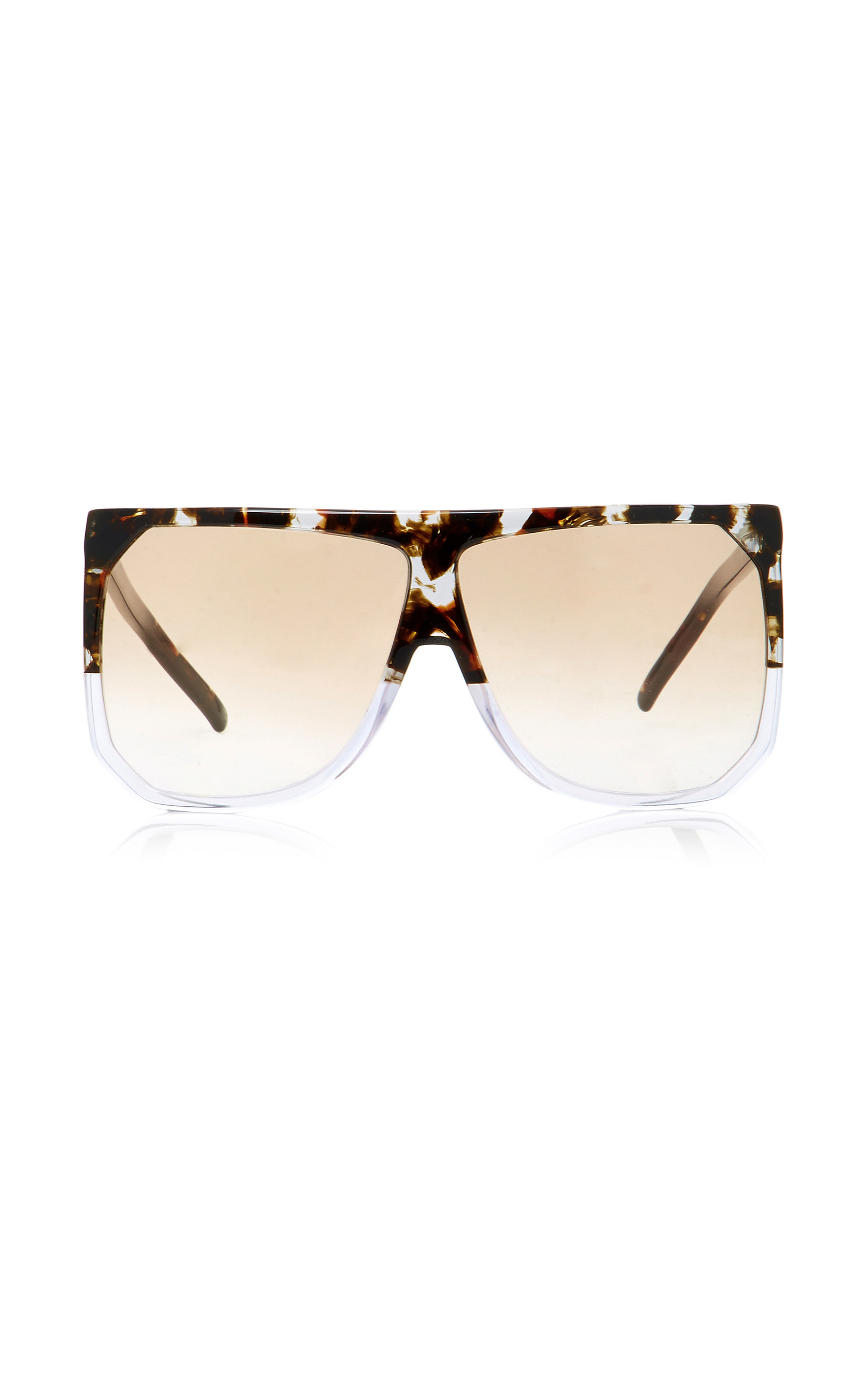 09fbca12f1e60 Filipa Square-Frame Acetate Sunglasses by Loewe