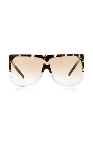 Medium loewe brown filipa square frame acetate sunglasses