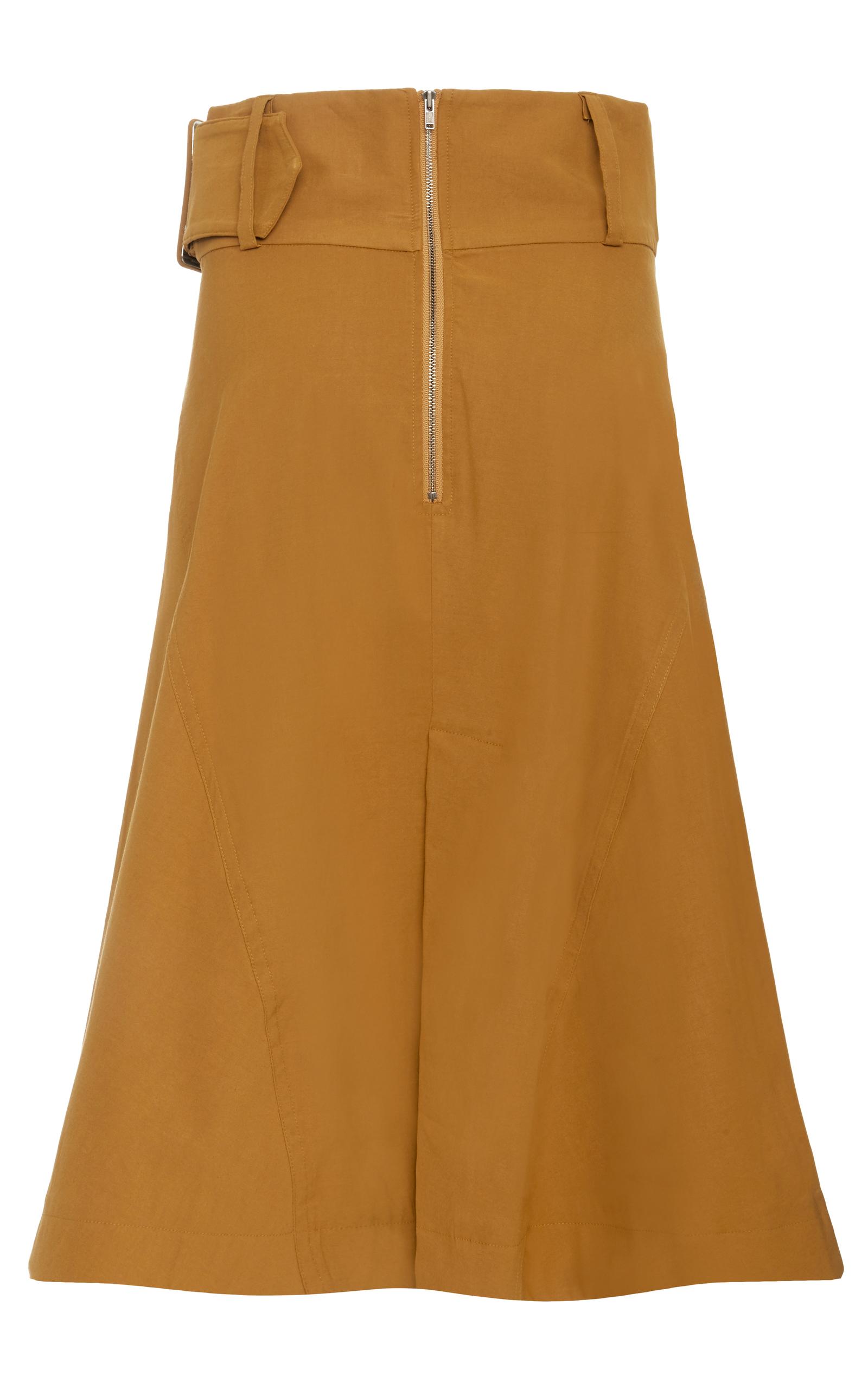 belted a line wrap skirt by sea moda operandi
